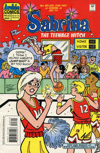 Cover for Sabrina the Teenage Witch (Archie, 1997 series) #23 [Direct Edition]