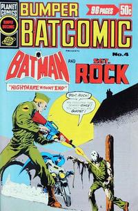 Cover Thumbnail for Bumper Batcomic (K. G. Murray, 1976 series) #4