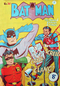 Cover Thumbnail for Batman (K. G. Murray, 1950 series) #21
