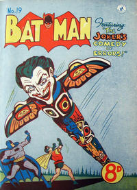 Cover Thumbnail for Batman (K. G. Murray, 1950 series) #19