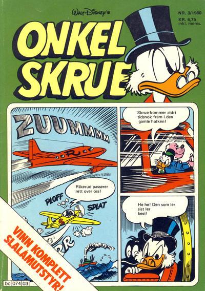 Cover for Onkel Skrue (Hjemmet / Egmont, 1976 series) #3/1980