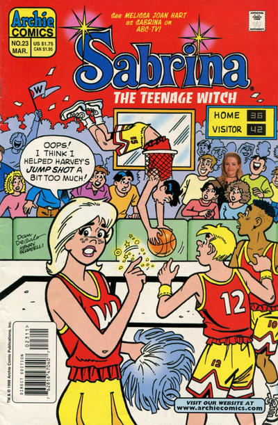 Cover for Sabrina the Teenage Witch (Archie, 1997 series) #23