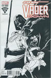 Cover Thumbnail for Star Wars: Vader Down (2016 series) #1 [Fried Pie Exclusive Kris Anka Black and White Variant]