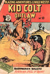 Cover for Kid Colt Outlaw (Horwitz, 1952 ? series) #10