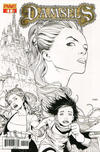 Cover for Damsels (Dynamite Entertainment, 2012 series) #1 [Cover A]