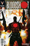Cover for Bloodshot (Valiant Entertainment, 2012 series) #0 [Cover A - Dave Bullock]