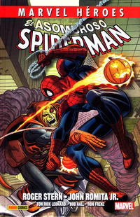 Cover Thumbnail for Marvel Héroes (Panini España, 2012 series) #69 - El Asombroso Spiderman de Roger Stern y John Romita Jr. Edición Definitiva