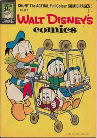Cover Thumbnail for Walt Disney's Comics (W. G. Publications; Wogan Publications, 1946 series) #192