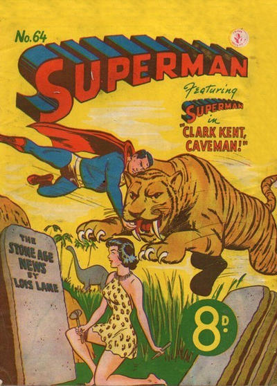 Cover for Superman (K. G. Murray, 1947 series) #64