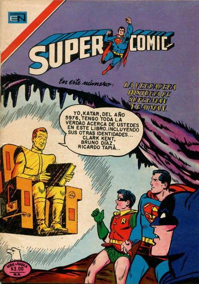 Cover for Supercomic (Editorial Novaro, 1967 series) #112