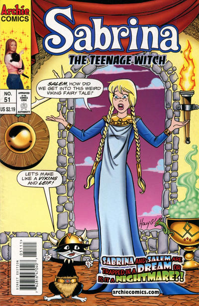 Cover for Sabrina the Teenage Witch (Archie, 2003 series) #51 [Direct Edition]