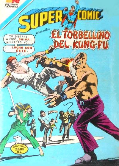 Cover for Supercomic (Editorial Novaro, 1967 series) #249