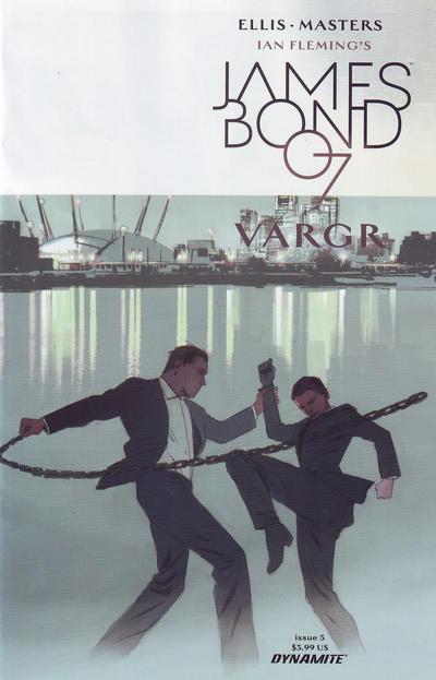 Cover for James Bond (Dynamite Entertainment, 2015 series) #5