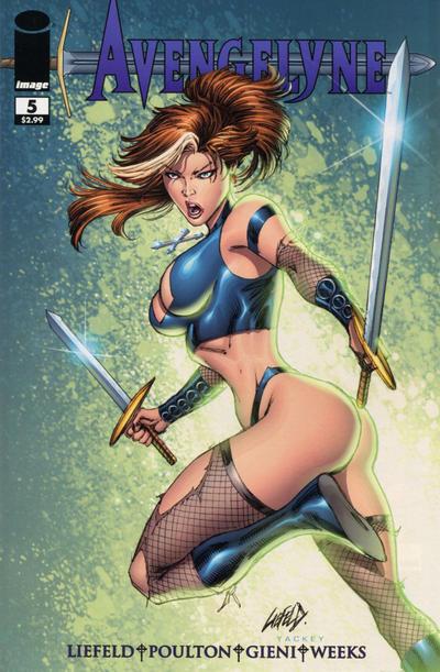 Cover for Avengelyne (Image, 2011 series) #5 [Cover B Owen Gieni]