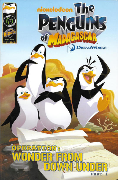 Cover for Penguins of Madagascar Operation: Wonder from Down Under (Ape Entertainment, 2010 series) #1