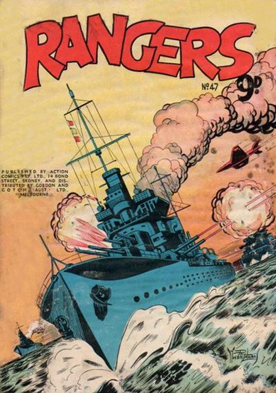Cover for Rangers Comics (H. John Edwards, 1950 ? series) #47