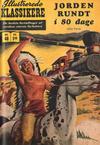 Cover for Illustrerede Klassikere (I.K. [Illustrerede klassikere], 1956 series) #48 - Jorden rundt i 80 dage