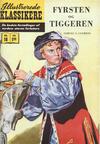 Cover for Illustrerede Klassikere (I.K. [Illustrerede klassikere], 1956 series) #18 - Fyrsten og tiggeren