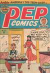 Cover for Pep Comics (H. John Edwards, 1951 series) #22