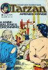 Cover for Tarzan [Jungelserien] (Illustrerte Klassikere / Williams Forlag, 1965 series) #10/1975