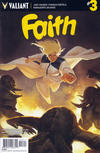 Cover for Faith (Valiant Entertainment, 2016 series) #3 [Cover A - Jelena Kevic Djurdjevic]