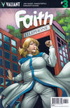 Cover for Faith (Valiant Entertainment, 2016 series) #3 [Cover B - Emanuela Lupacchino]
