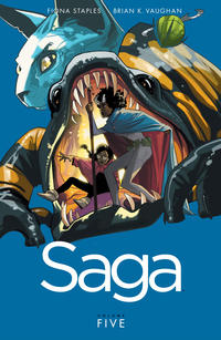 Cover Thumbnail for Saga (Image, 2012 series) #5