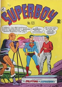 Cover Thumbnail for Superboy (K. G. Murray, 1949 series) #123