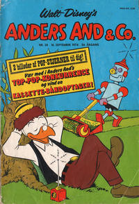 Cover Thumbnail for Anders And & Co. (Egmont, 1949 series) #38/1974