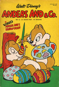 Cover Thumbnail for Anders And & Co. (Egmont, 1949 series) #12/1967
