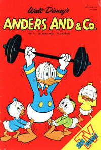 Cover Thumbnail for Anders And & Co. (Egmont, 1949 series) #17/1966