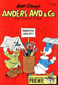 Cover Thumbnail for Anders And & Co. (Egmont, 1949 series) #40/1965
