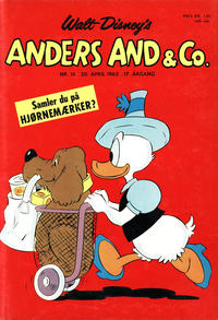 Cover Thumbnail for Anders And & Co. (Egmont, 1949 series) #16/1965