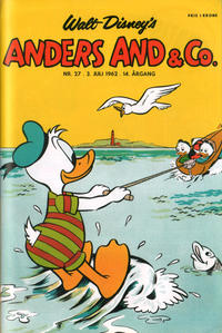 Cover Thumbnail for Anders And & Co. (Egmont, 1949 series) #27/1962