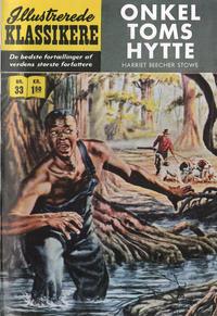 Cover Thumbnail for Illustrerede Klassikere (I.K. [Illustrerede klassikere], 1956 series) #33 - Onkel Toms hytte