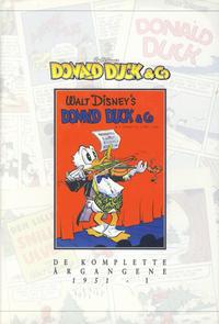 Cover Thumbnail for Donald Duck & Co De komplette årgangene (Hjemmet / Egmont, 1998 series) #[3] - 1951 del 1