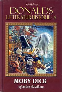 Cover Thumbnail for Donalds litteraturhistorie (Hjemmet / Egmont, 2014 series) #4 - Moby Dick og andre klassikere