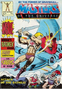 Cover Thumbnail for Masters of the Universe (Egmont UK, 1986 series) #25