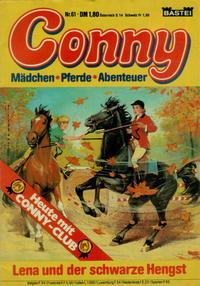 Cover Thumbnail for Conny (Bastei Verlag, 1980 series) #61