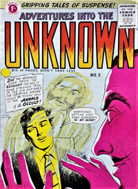 Cover Thumbnail for Adventures into the Unknown (Arnold Book Company, 1950 ? series) #5
