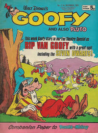 Cover Thumbnail for Goofy (IPC, 1973 series) #7