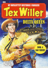 Cover Thumbnail for Tex Willer (Hjemmet / Egmont, 2014 series) #4 - Delta Queen