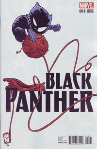 Cover Thumbnail for Black Panther (Marvel, 2016 series) #1 [Skottie Young Marvel Babies Variant]