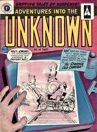 Cover Thumbnail for Adventures into the Unknown (Arnold Book Company, 1950 series) #17