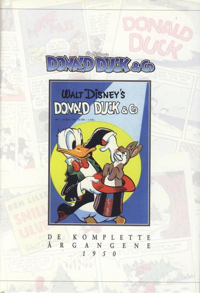 Cover for Donald Duck & Co De komplette årgangene (Hjemmet / Egmont, 1998 series) #[2] - 1950 [1. opplag]
