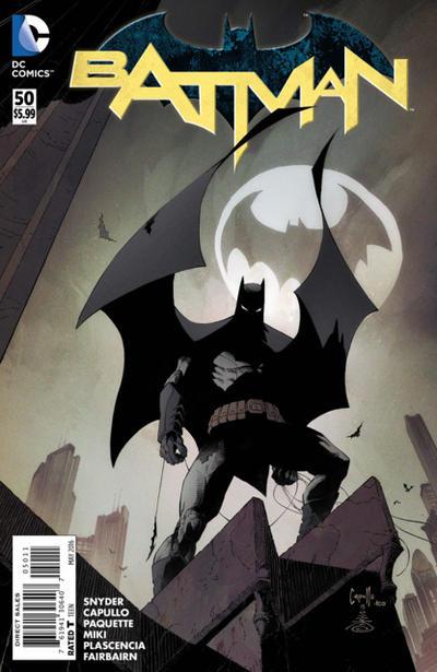 Cover for Batman (DC, 2011 series) #50 [Newbury Comics Color Connecting Cover]