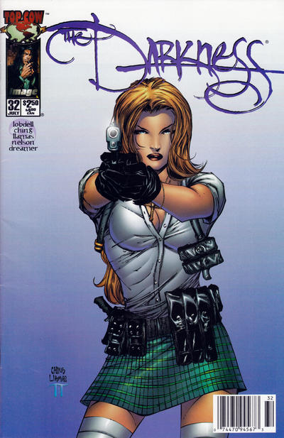 Cover for The Darkness (Image, 1996 series) #32