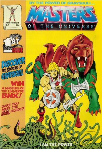 Cover for Masters of the Universe (Egmont UK, 1986 series) #1