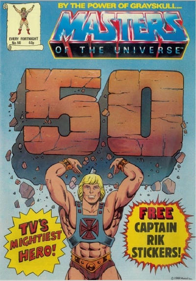 Cover for Masters of the Universe (Egmont UK, 1986 series) #50