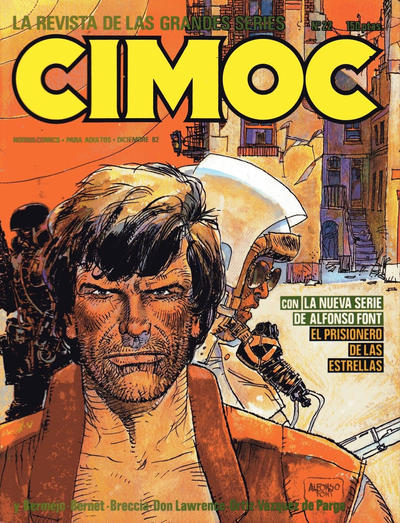 Cover for Cimoc (NORMA Editorial, 1981 series) #22